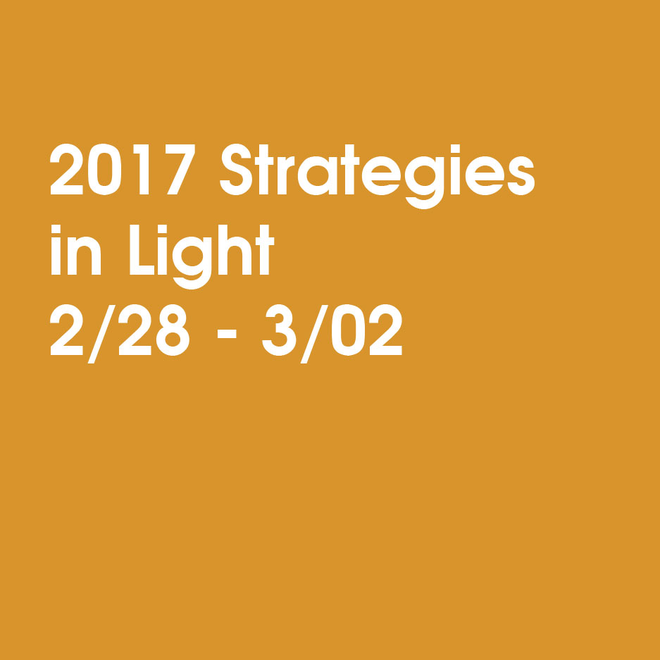 2017 示す:Strategies in Light